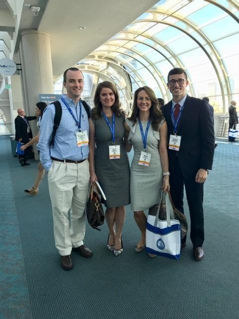 Residents attend the AAS