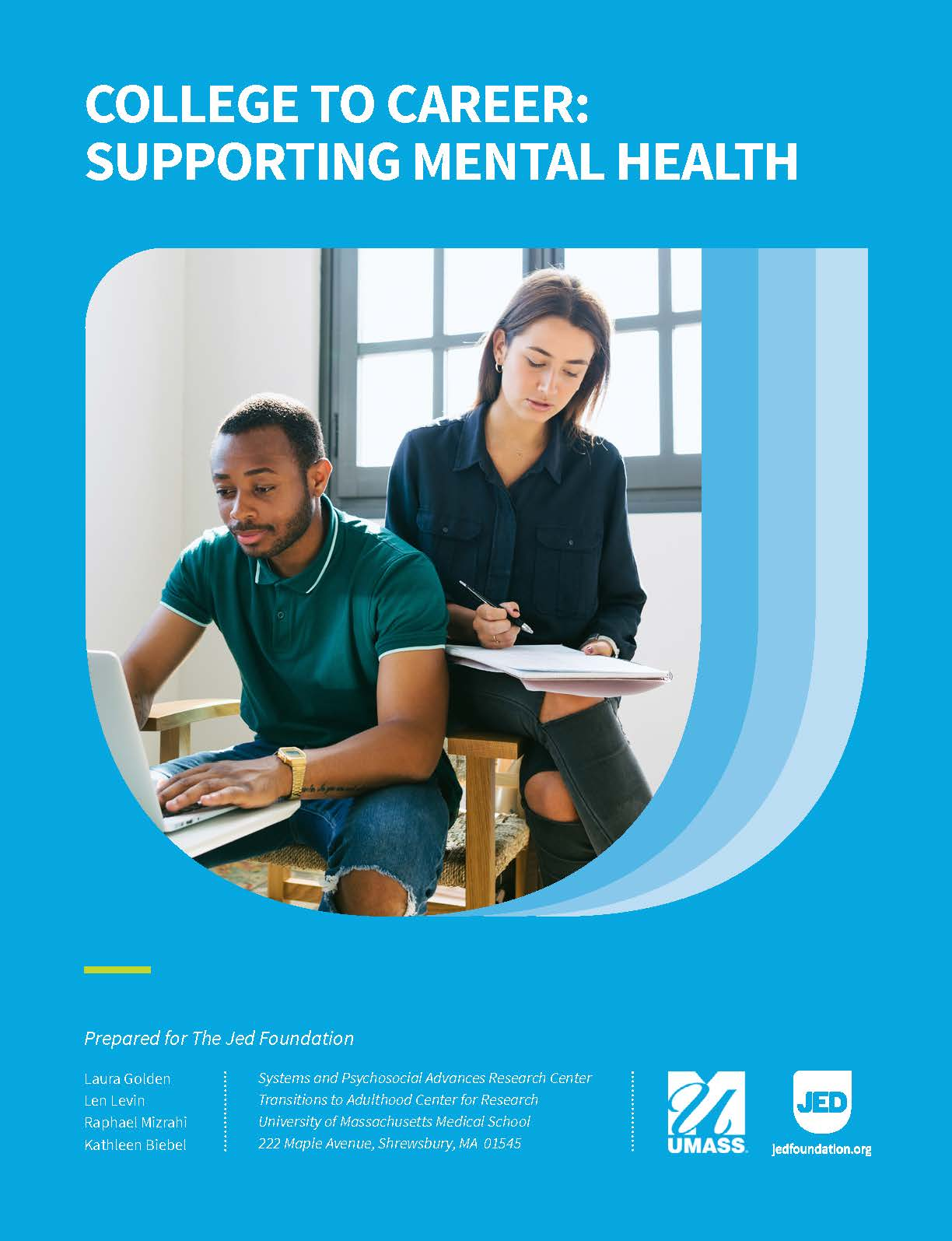 College to Career: Supporting Mental Health white paper release