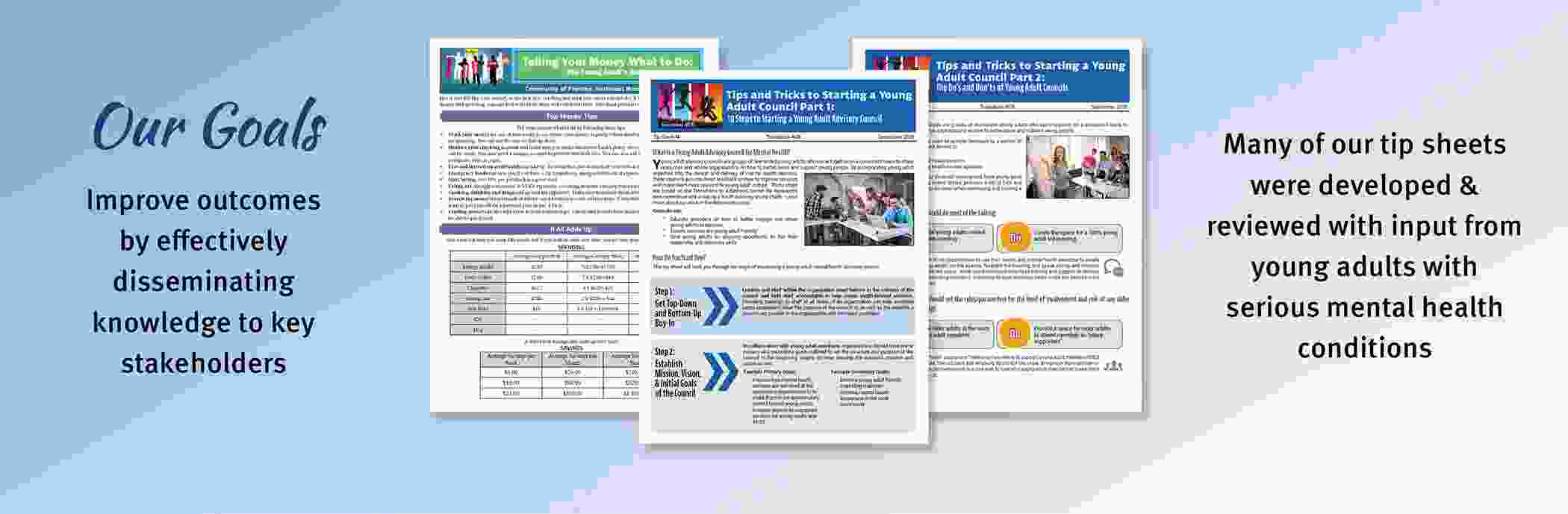 Click here to view our publications & tip sheets