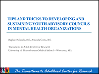 Tips and tricks Young Adult Council thumbnail