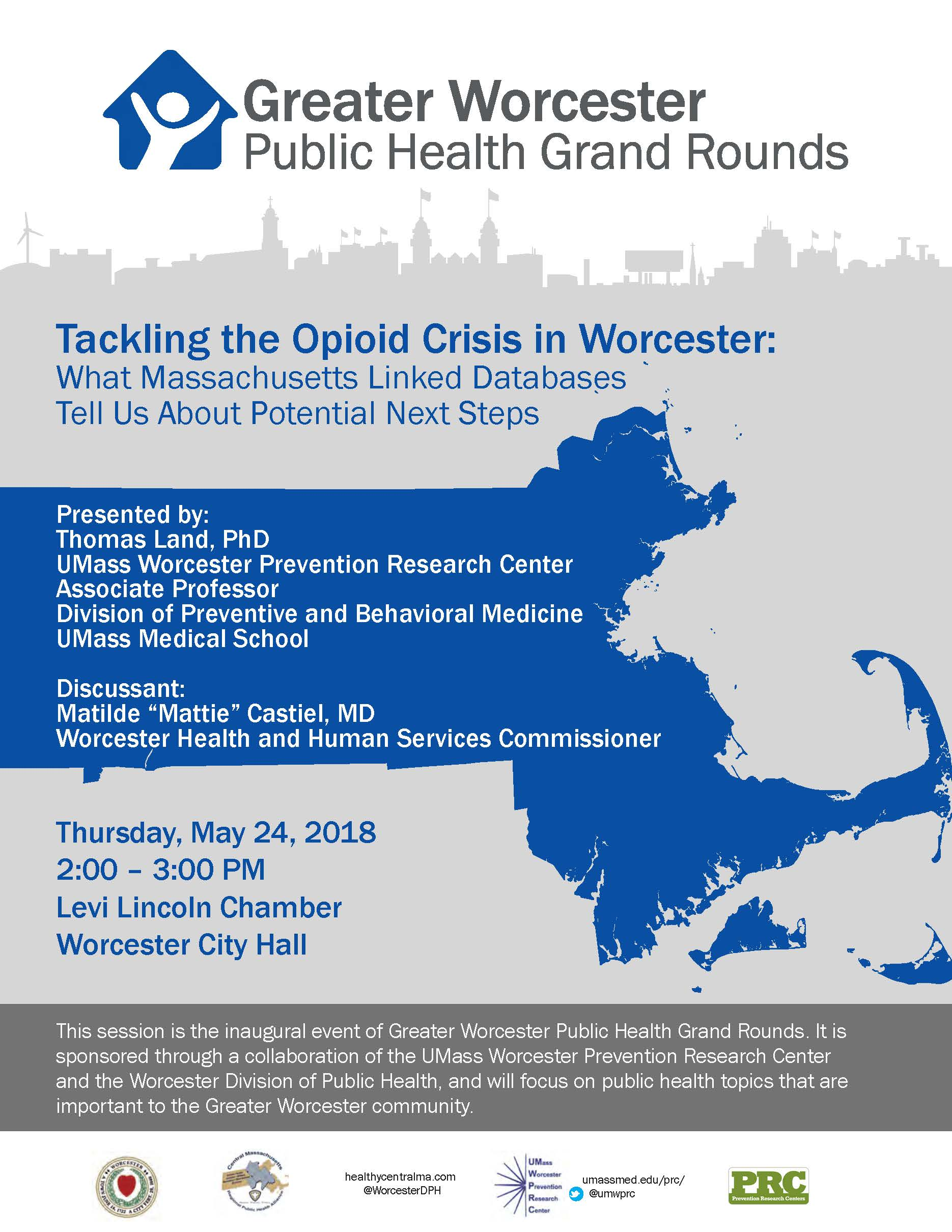 Greater Worcester Public Health Grand Rounds