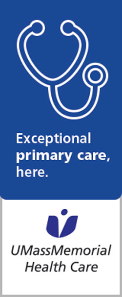 UMass Memorial Primary Care ad 11-16