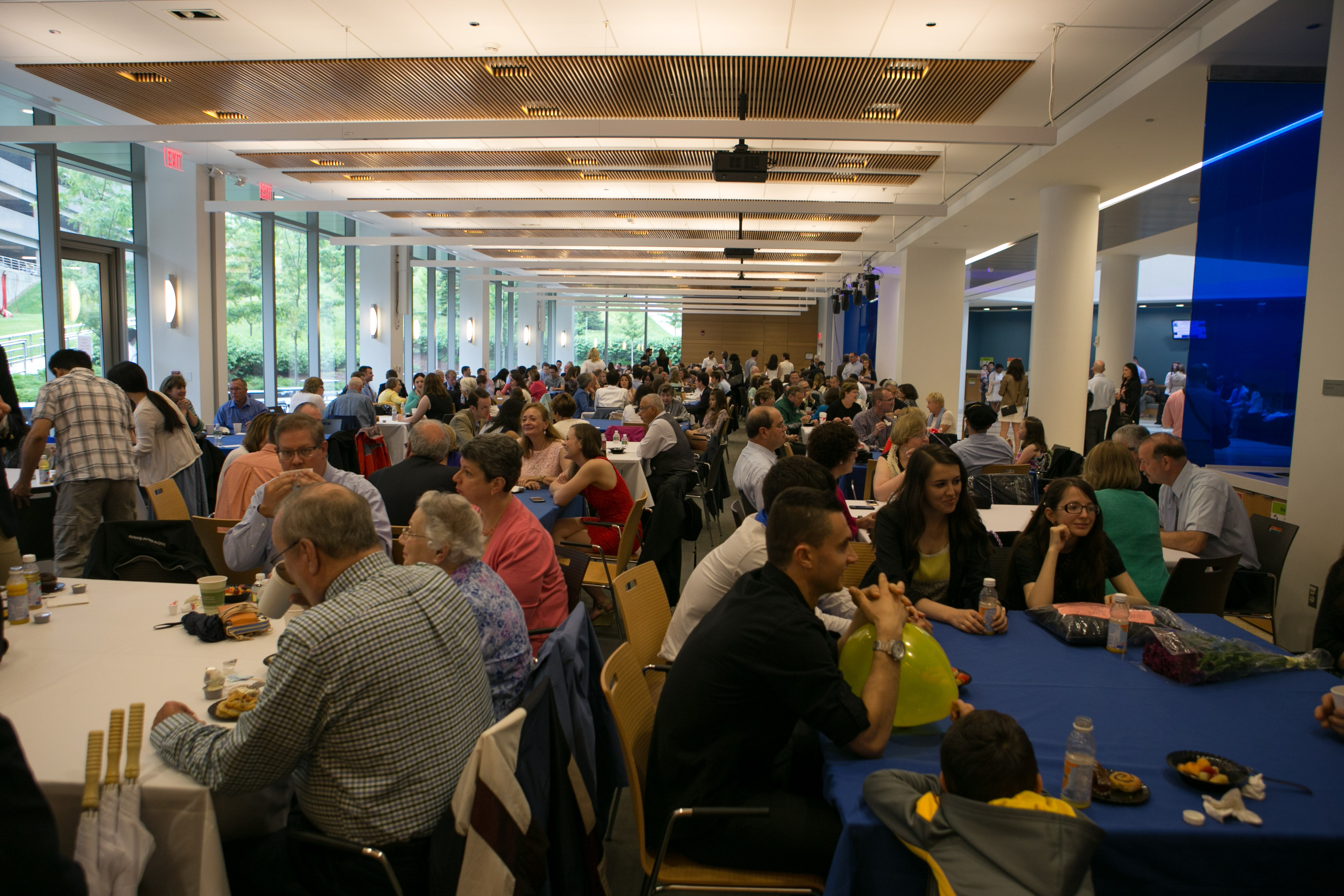 Commencement Continental Breakfast 2016 - Albert Sherman Center, Multi-Purpose Room