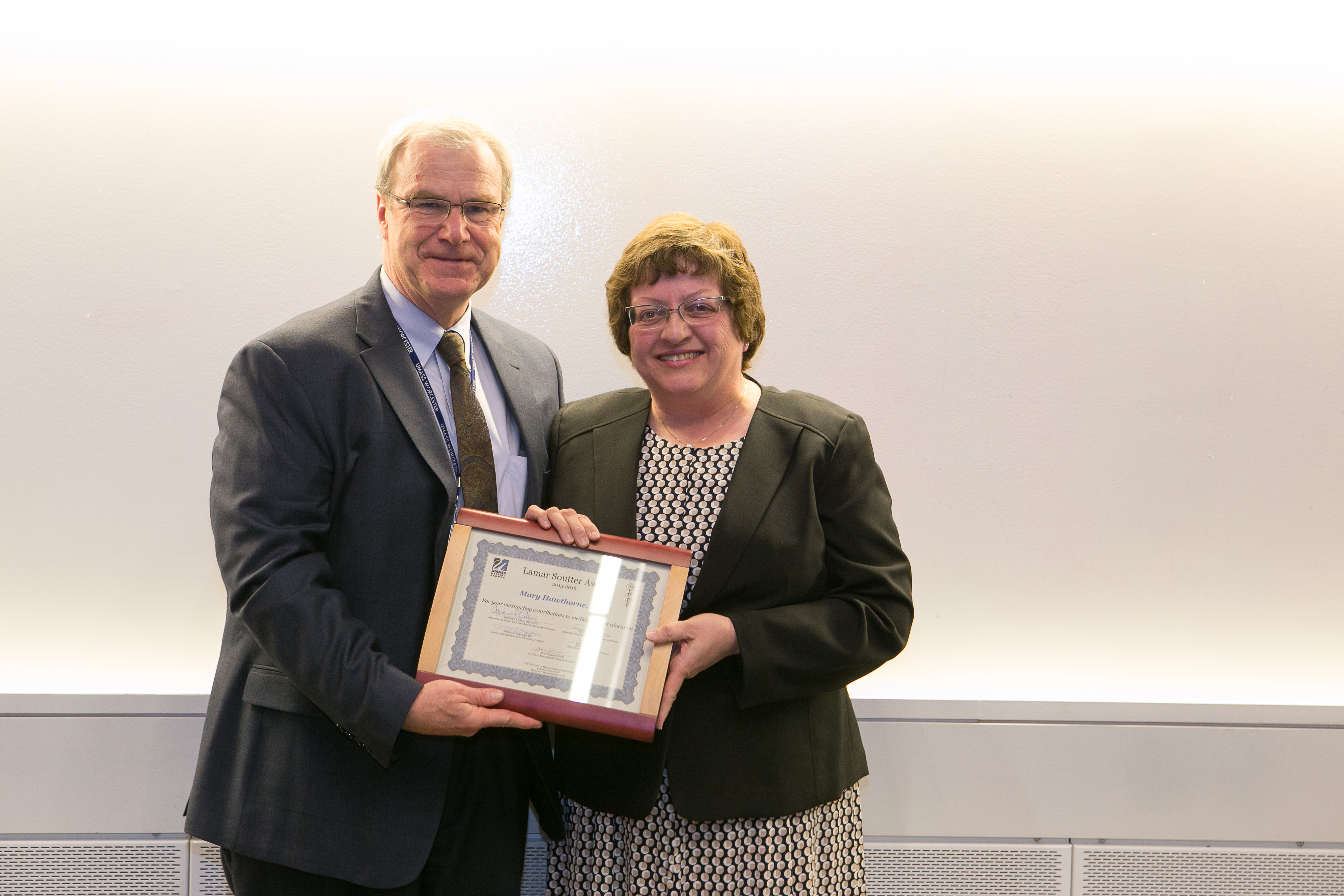 Dean's Award: Lamar Soutter Award for Excellence in Undergraduate Medical Education