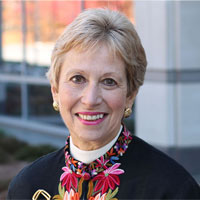 Joan Vitello, PhD, RN, NEA-BC, FAHA, FAAN, dean of the Graduate School of Nursing